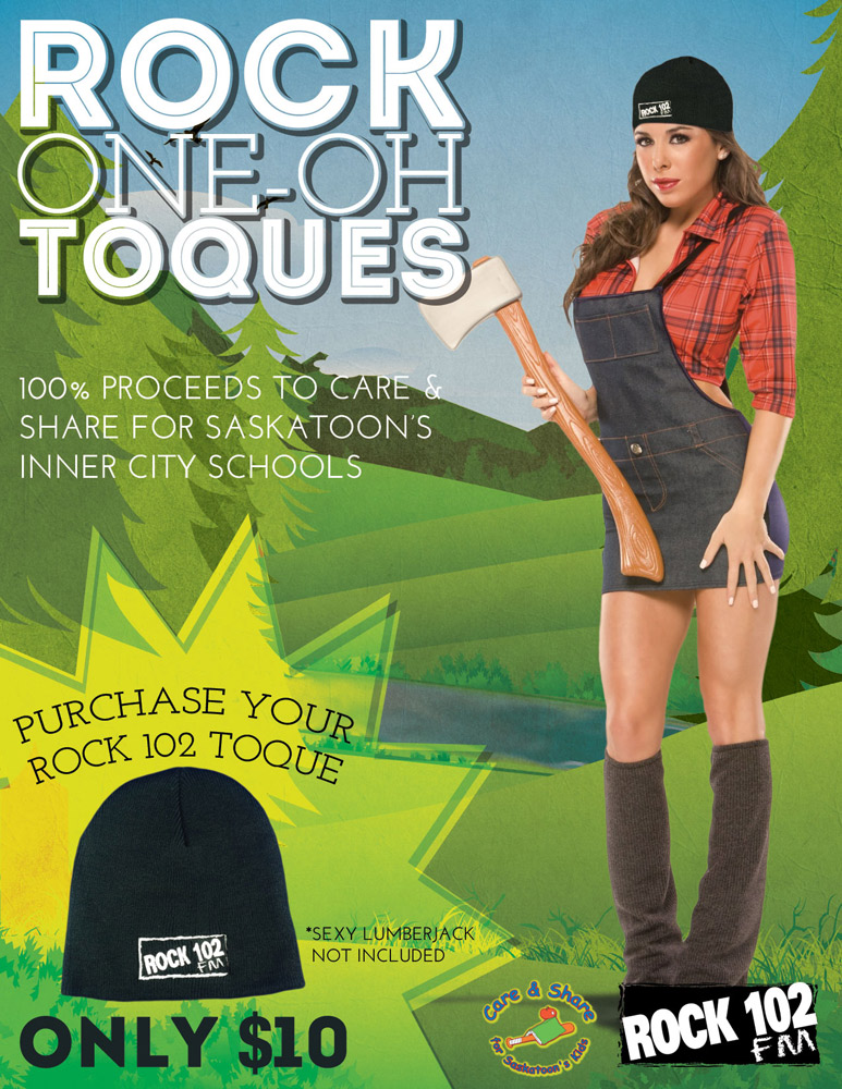 Rock One-Oh-Toques Poster