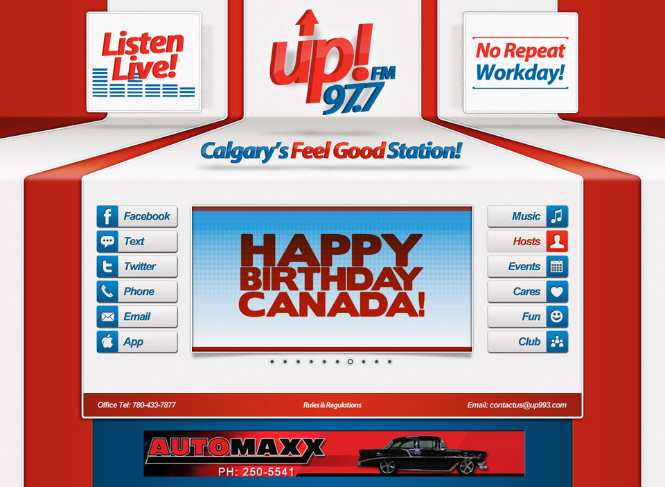 up! FM Website Designs