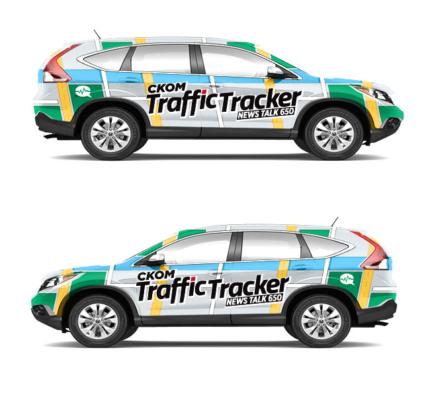 CKOM Traffic Vehicle