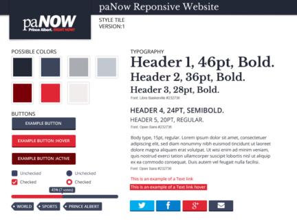 paNOW Responsive Website